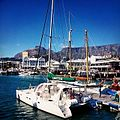 Catamaran Ameera, Victoria & Alfred Waterfront, Cape Town.jpg