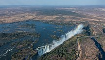 Zambia-Geography and Geology-Cataratas Victoria, Zambia-Zimbabue, 2018-07-27, DD 05