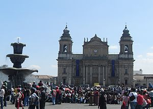Roman Catholic Archdiocese of Santiago de Guatemala - Primatial Metropolitan Cathedral of St. James