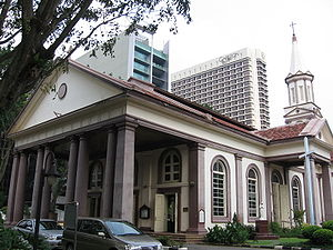 Christianity in Singapore - The Cathedral of the Good Shepherd is the oldest Roman Catholic church in Singapore.