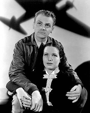 June Travis - James Cagney and June Travis in Ceiling Zero (1936)