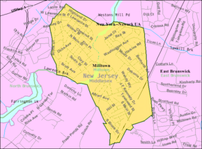 Census Bureau map of Milltown, New Jersey.png