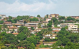 Centre Region (Cameroon) - View of Yaoundé, the capital city of Cameroon