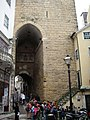 Cerca de Coimbra ou Muralhas de Coimbra designadamente o Arco de Almedina ou Arco Pequeno de Almedina 2.jpg