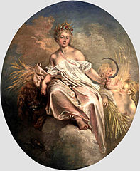 Allegory of the Summer in Ceres