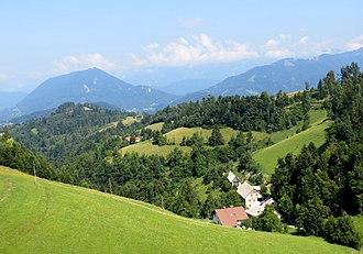 Cerkljanski Vrh - Image: Cerkljanski Vrh Slovenia Bende 2