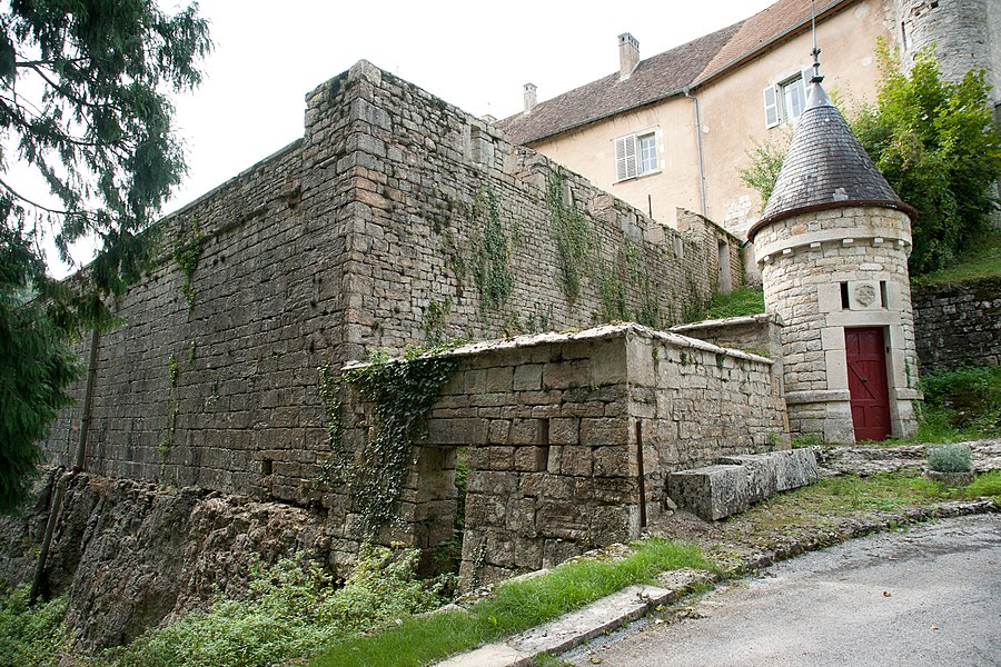 Châteauvieux-les-Fossés - entrée