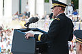 Chairman of the Joint Chiefs of Staff U.S. Army Gen. Martin Dempsey, at lectern, gives a speech in recognition of Memorial Day at the Memorial Amphitheater in Arlington, Va., May 27, 2013 130527-A-VS818-244.jpg