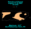 Chantal 2001 Puerto Rico rainfall.png