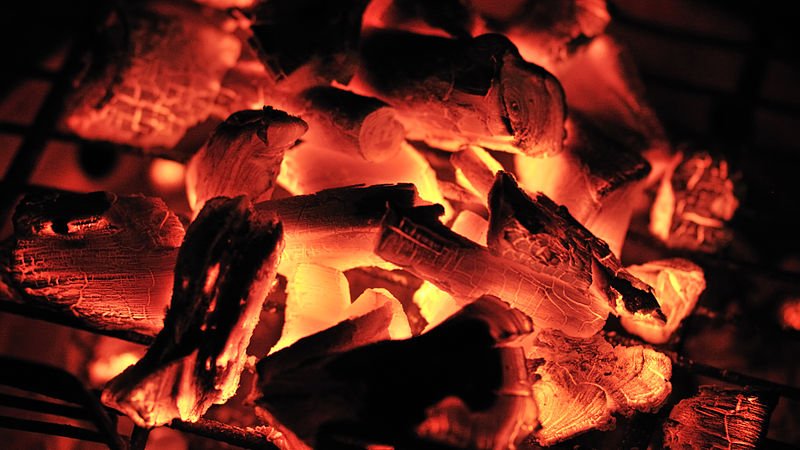 File:Charbon - charcoal burning (3106924114).jpg