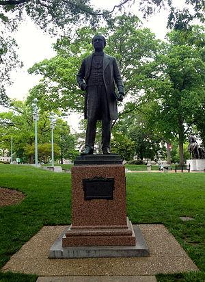 Charles Duncan McIver - Charles Duncan McIver Statue
