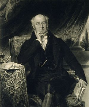 Sir Charles Mansfield Clarke, 1st Baronet - Engraving by J. Cochran, 1838