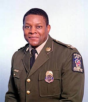 D.C. sniper attacks - Charles Moose, Chief of the Montgomery County Department of Police.