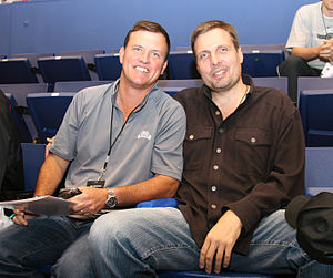 Donnie Nelson - Donnie Nelson (right) in 2007.