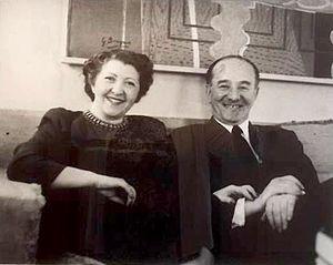 Charlotte Bergman - Charlotte and Louis Bergman (ca. 1950)
