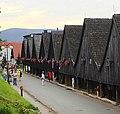 Chełmsko Śląskie, drewniane domki tkaczy (Aw58) DSC07919.JPG