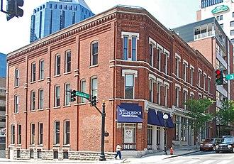 Church Street (Nashville, Tennessee) - Image: Cheatham Building Nashville