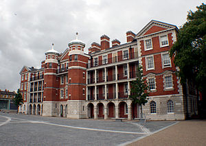 Royal Army Medical College -  RAMC buildings now occupied by the Chelsea College of Art and Design