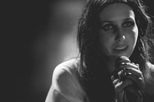 Chelsea Wolfe - Wolfe performing San Francisco, California, 2013