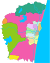 Chennai district map blank.png