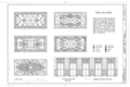 Cherokee Club, 1318 Ninth Avenue, Tampa, Hillsborough County, FL HABS FLA,29-TAMP,9- (sheet 7 of 7).png