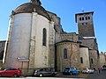 Chevet de l'abbaye de Saint-Sever (droite).jpg