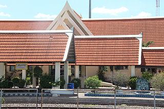 Chiang Rak railway station