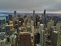 Chicago evening skyline (17028776361).jpg