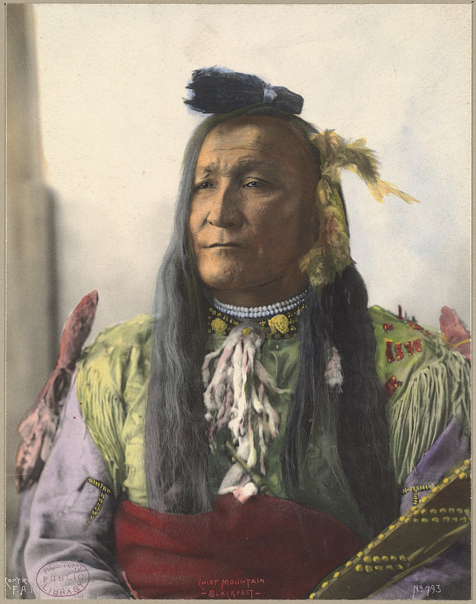 Chief Mountain, Blackfeet