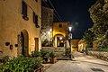 Chiesa di San Michele Arcangelo - Porticato esterno notte 3.jpg