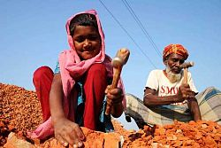 Research on child labor across the world.?