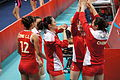 China national volleyball team at the 2012 Summer Olympics (7913853124).jpg