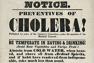 Cholera outbreaks and pandemics Worldwide outbreaks and pandemics of cholera