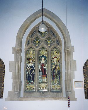 Cholesbury - Jeston window, St Lawrence's Church