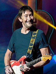Chris Rea performing in Congress Hall, February 2012