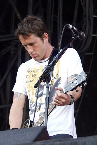 No Use for a Name - Chris Shiflett, lead guitarist from 1995–99