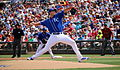 Chris Young delivers a pitch (25087266133).jpg