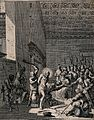 Christ beaten and mocked before Caiaphas. Etching by J. Call Wellcome V0034769.jpg