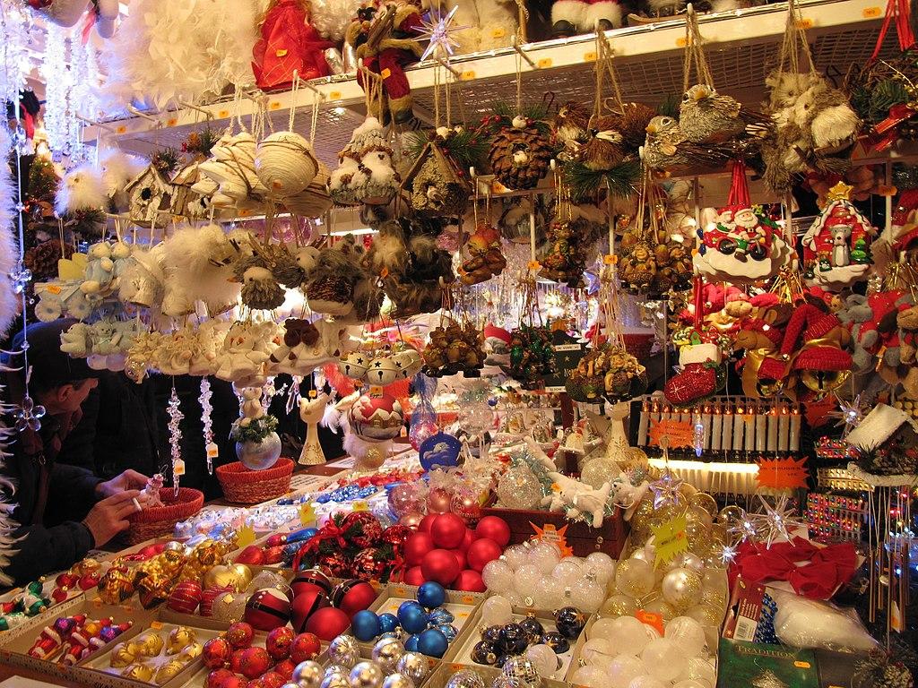 Decoration Noel Barcelone