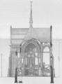 Christuskirche Hamburg-Eimsbüttel Schnittzeichnung Langhaus und Querschiff (Deutsche Bauzeitung 1883).png