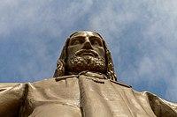 Christusstatue Temple Expiatori del Sagrat Cor Detail.jpg