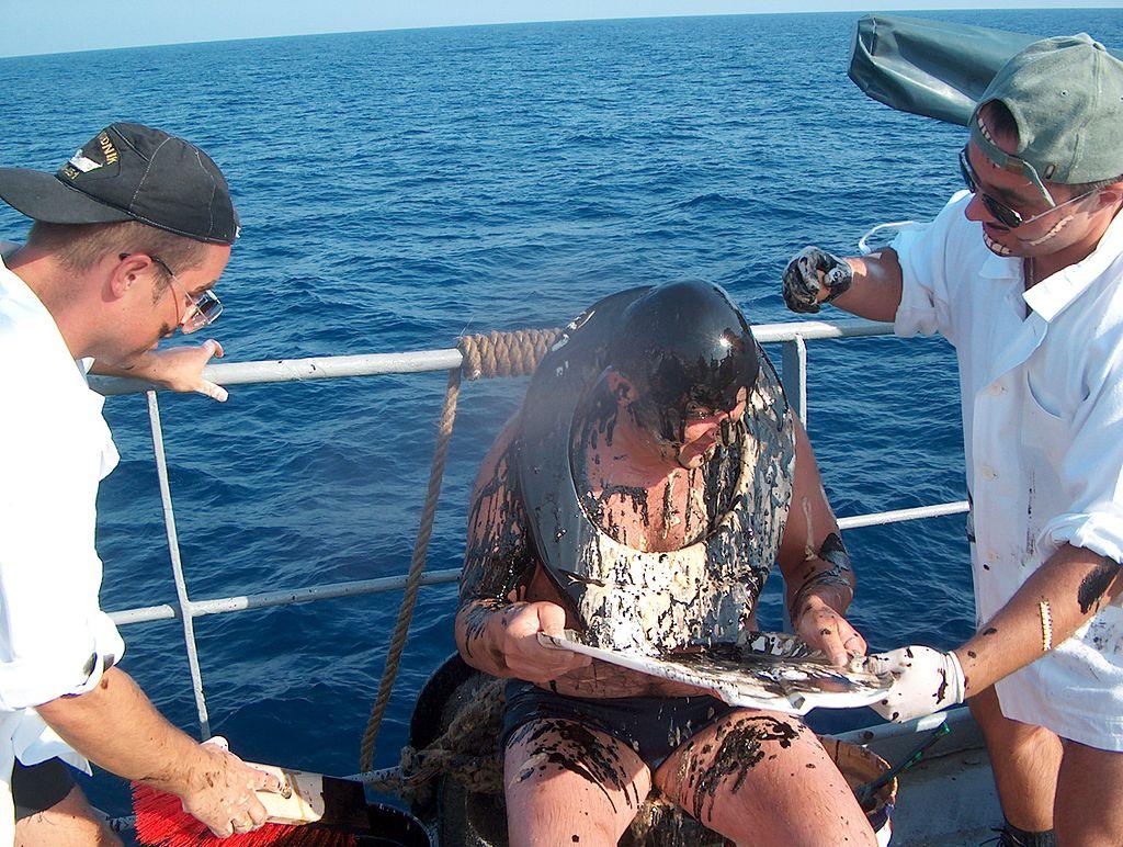 Ontgroening op zee pakt verkeerd uit