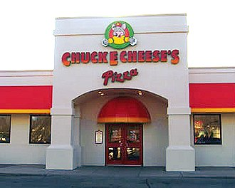 "Chuck E. Cheese's - An older Chuck E. Cheese's facility under the now defunct title of ""Chuck E Cheese's Pizza""."