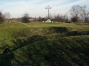"Amon Göth - Hujowa Górka (""Prick Hill""), the execution place in Kraków-Płaszów concentration camp (2007)"