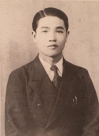 Chung Li-ho - Chung Li-ho, in about 1941.