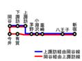 Chuo Highway Bus Suwa-Okaya Line ja.png