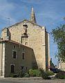 Church St-Barthélémy du Pradau, Condom-Virgin on south-east end.jpg