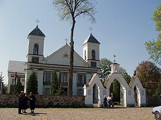 Valkininkai Town in Lithuania