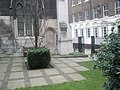 Churchyard at the ruined St Dunstan's-in-the-East - geograph.org.uk - 1714082.jpg