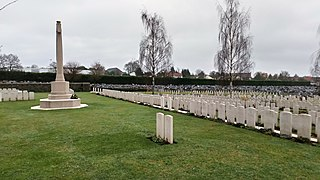 Albert Communal Cemetery Extension (War Graves) War cemetery located in the French Commune of Albert in the Somme Region